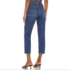 Levi's Wedgie straight leg jean in Market Stance